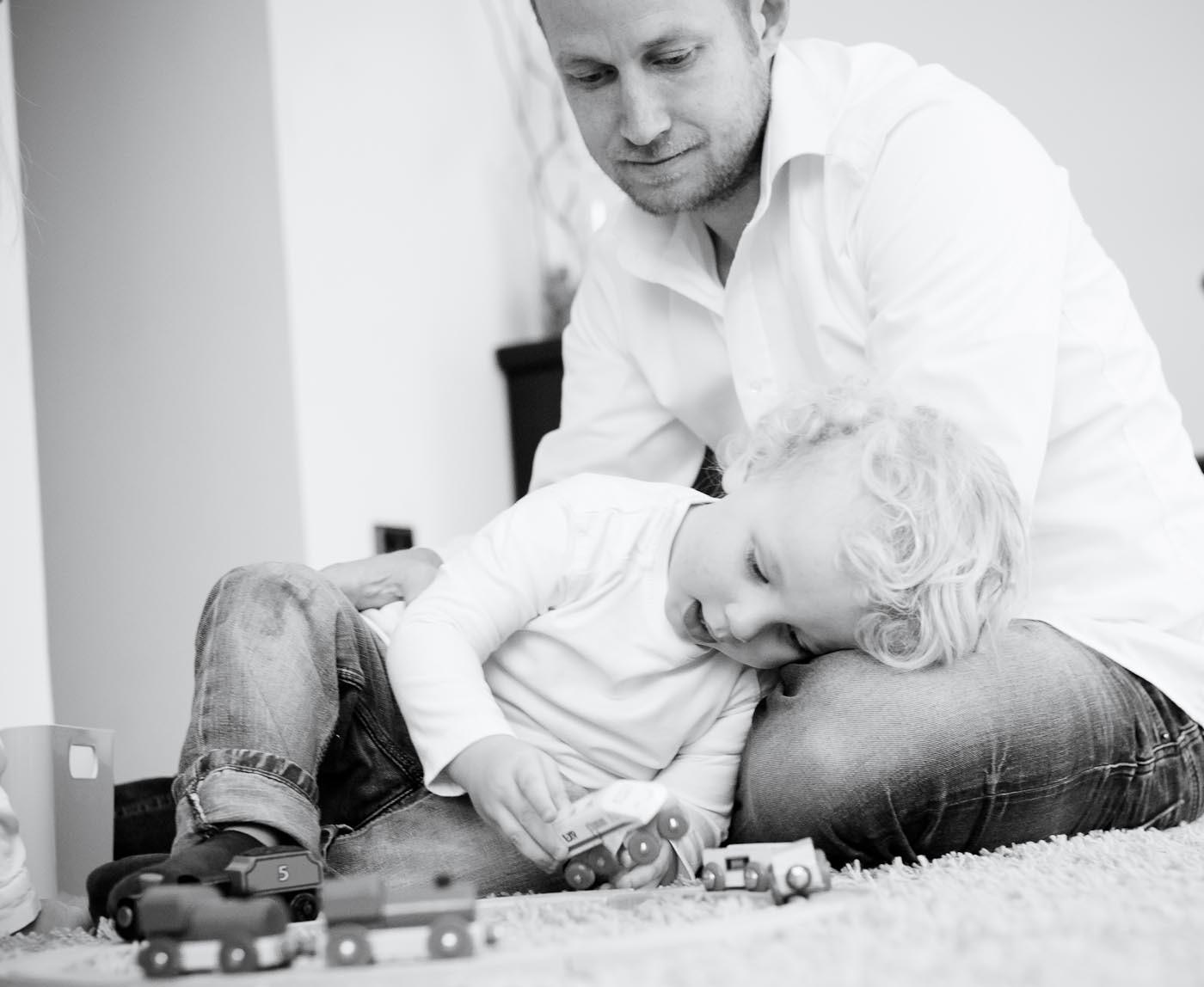 Vater und Sohn Bilder Johanna Krämer